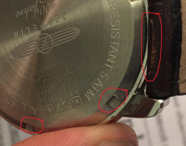 Сервис mobi03 - испортили новые дорогие часы